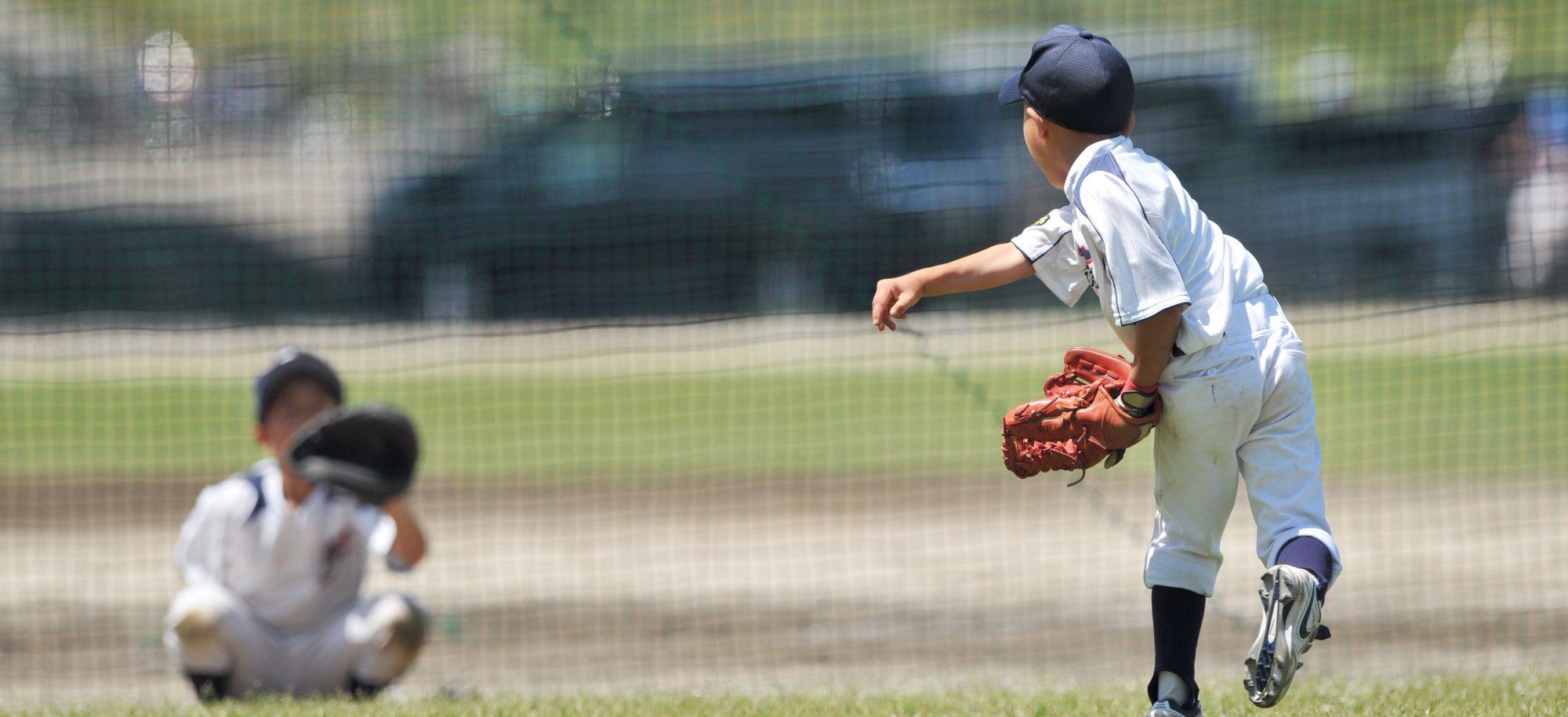 野球のケガ|花巻やぎ整骨院